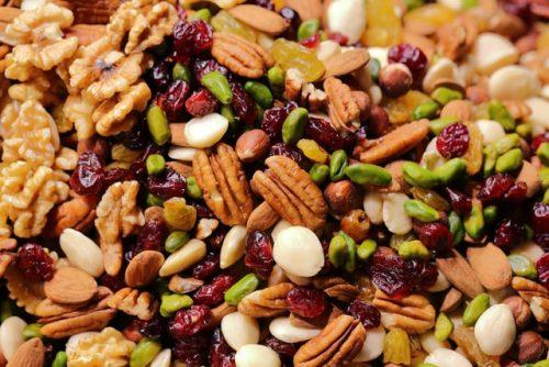 Les bienfaits des fruits à coques riches en Zinc